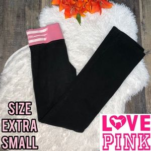 Victoria's Secret PINK yoga leggings